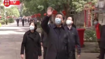 Xi Jinping visita Wuhan, el centro del coronavirus