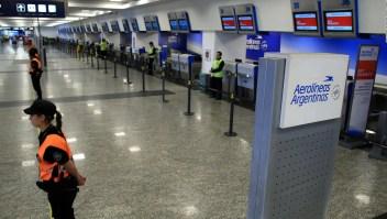 Aerolíneas Argentinas cancela vuelos a Italia y Miami