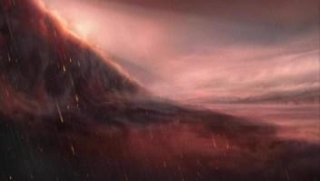 El exoplaneta en el que cae lluvia de hierro por la noche