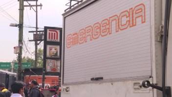 Choque en el Metro de la Ciudad de México: ¿Qué pasó?