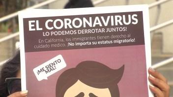 Médicos buscan apoyar a inmigrantes por coronavirus