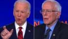 Biden y Sanders debaten sobre coronavirus e inmigración