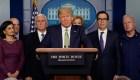 Trump extiende recursos para combatir el COVID-19