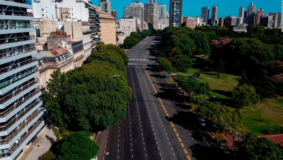 Así se vive la cuarentena total en Buenos Aires