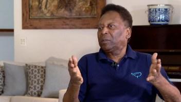 Pelé compara al fútbol actual con el de su época