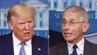 Trump y Fauci: ¿en desacuerdo?