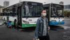Los autobuses vuelven a circular en Wuhan