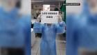 Perú: el emotivo video que subió una trabajadora de la salud