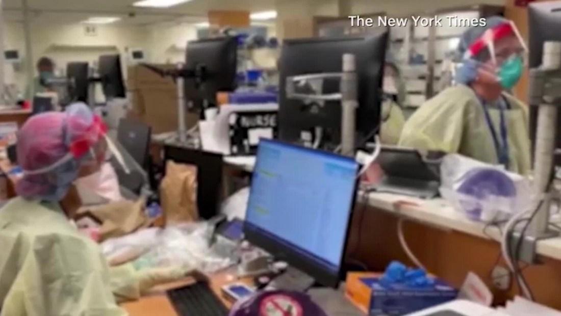 El hospital en el corazón de la crisis por covid-19 en Nueva York