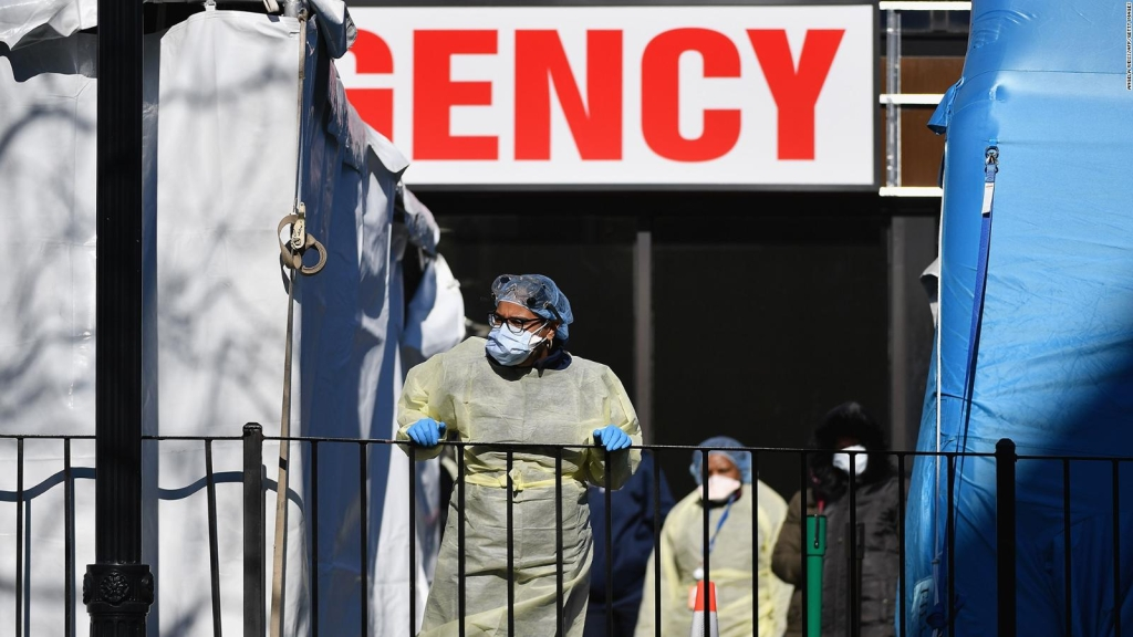 Ciudad de Nueva York, cerca de superar capacidad hospitalaria