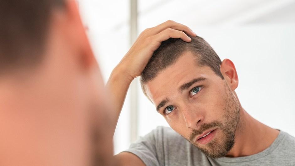 Cuidado cabello hombres