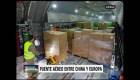 Airbus transportó millones de mascarillas a Europa