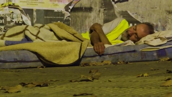¿Cómo enfrentan el covid-19 quienes no tienen casa en Uruguay?