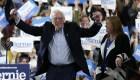 Bernie Sanders ataca a Joe Biden al cierre del Supermartes