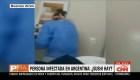 Persona infectada en Argentina: ¿Sushi hay?