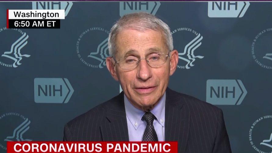 Dr. Fauci: El presidente vio los datos y lo entendió
