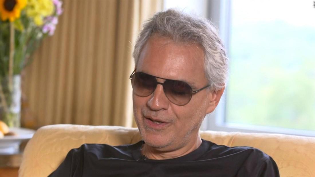 Andrea Bocelli ofrece concierto este domingo de Pascua