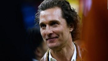 """Matthew McConaughey se une al reto """"All in Challenge"""""""
