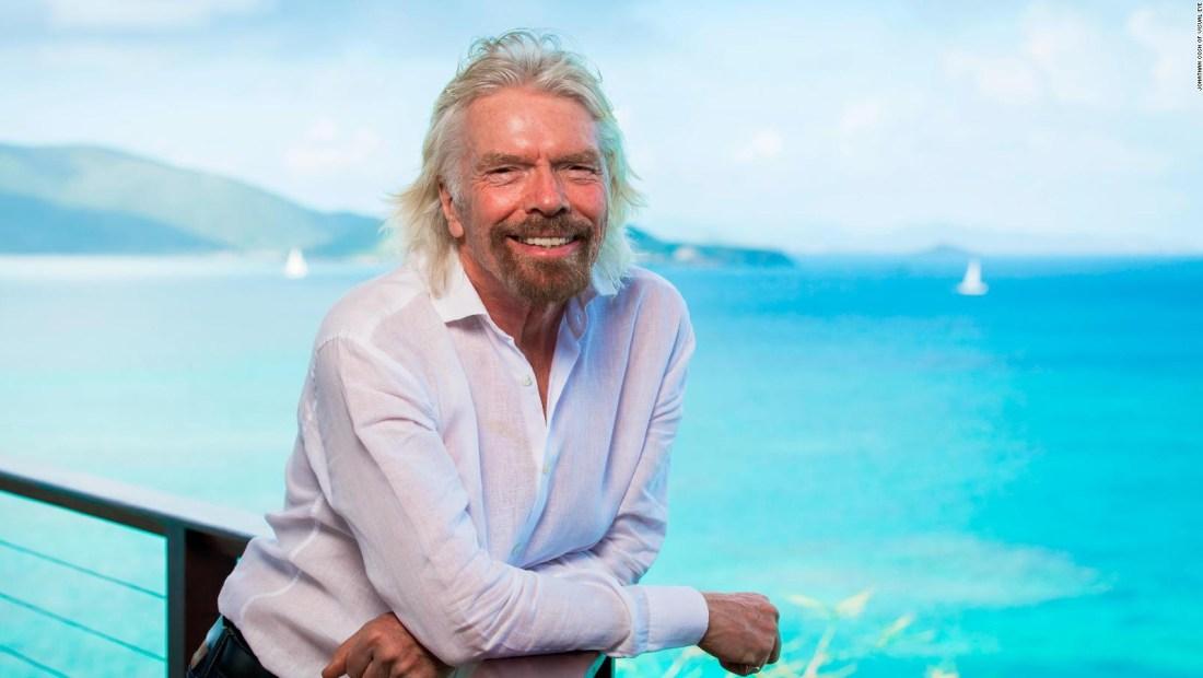 Richard Branson busca salvar 2 de sus aerolíneas con una isla privada