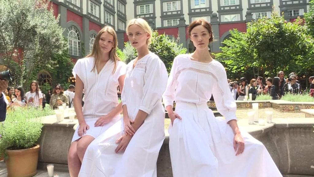 La pasarela digital del Mercedes-Benz Fashion Week México