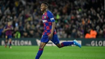El FC Barcelona mantiene a Ansu Fati en forma