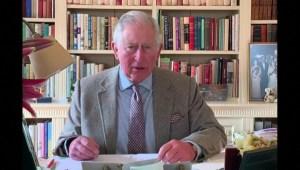Reaparece el príncipe Carlos tras dar positivo al covid-19