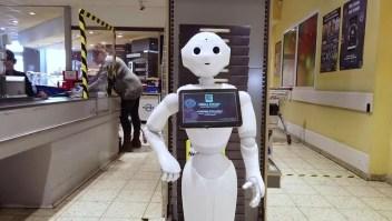 El robot que concientiza sobre el distanciamiento social