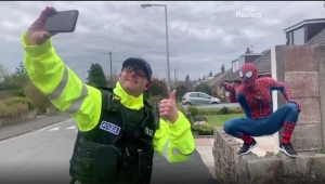 Spider-Man cautiva a niños en cuarentena