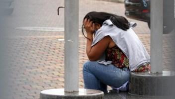 La gente pide ayuda en Guayaquil