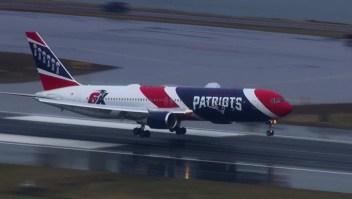 De China a Boston: El viaje del avión de los Patriots
