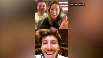 Sebastián Yatra, Michael Bublé y Luisana Lopilato se unen en Instagram