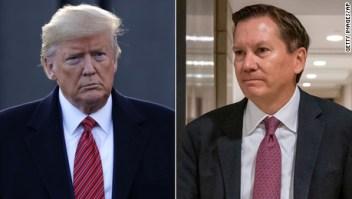 La razón por la que Trump despidió a Michael Atkinson