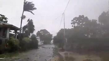 Ciclón categoría 5 azotó pequeña nación en el Pacífico