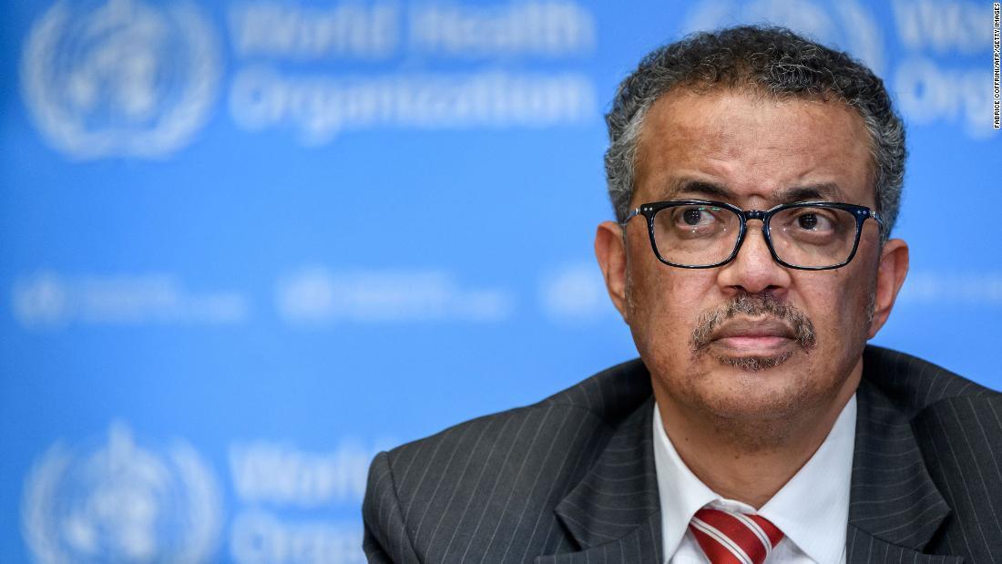 """""""No habrá retorno a la normalidad en el futuro previsible"""", dice el director general de la OMS"""