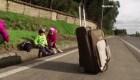 Venezolanos regresan a su país por culpa del coronavirus