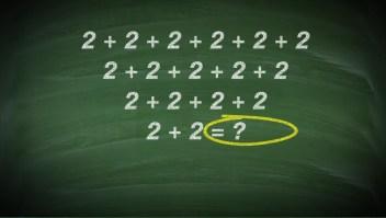 Desafío matemático: ¿puedes resolver este problema de sumas?