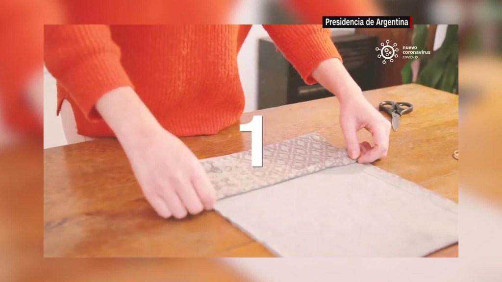 Aprende cómo hacer un tapabocas casero
