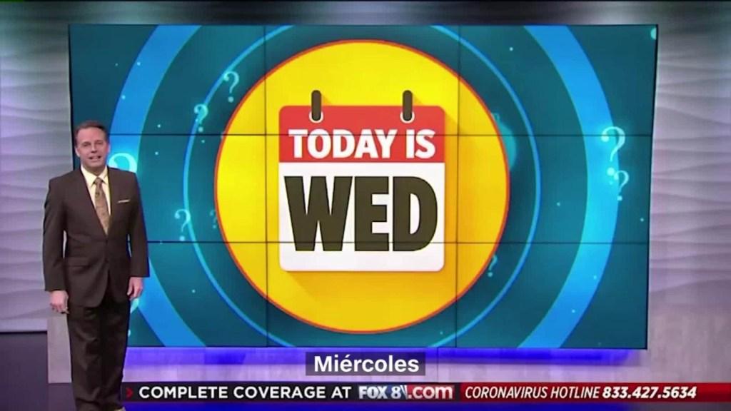 ¿No sabes qué días es? Este noticiero te lo recuerda