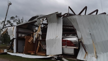 Tormentas y tornados azotan el sur de EE.UU.