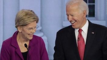 Elizabeth Warren apoya a Biden para elecciones presidenciales