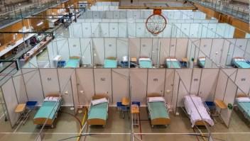 Así son los hospitales de campaña en Barcelona