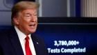 Trump: Hicimos más pruebas de covid-19 que ningún otro país
