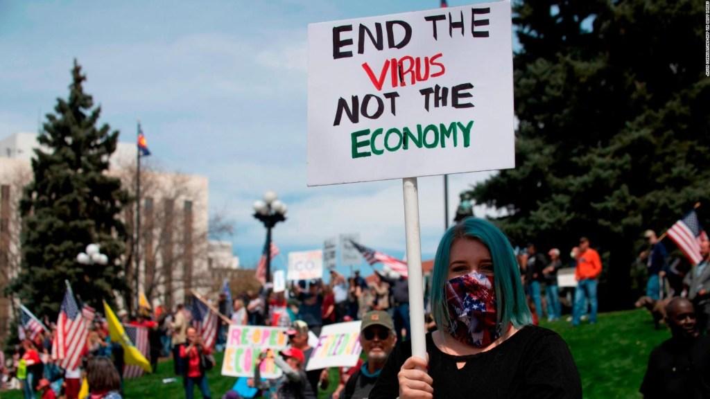 ¿El apoyo de Trump a las protestas es un juego político?