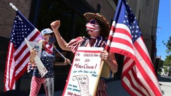 ¿Quiénes protestan contra confinamiento por covid-19 en EE.UU.?