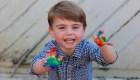 Tiernas fotos del príncipe Luis en su cumpleaños