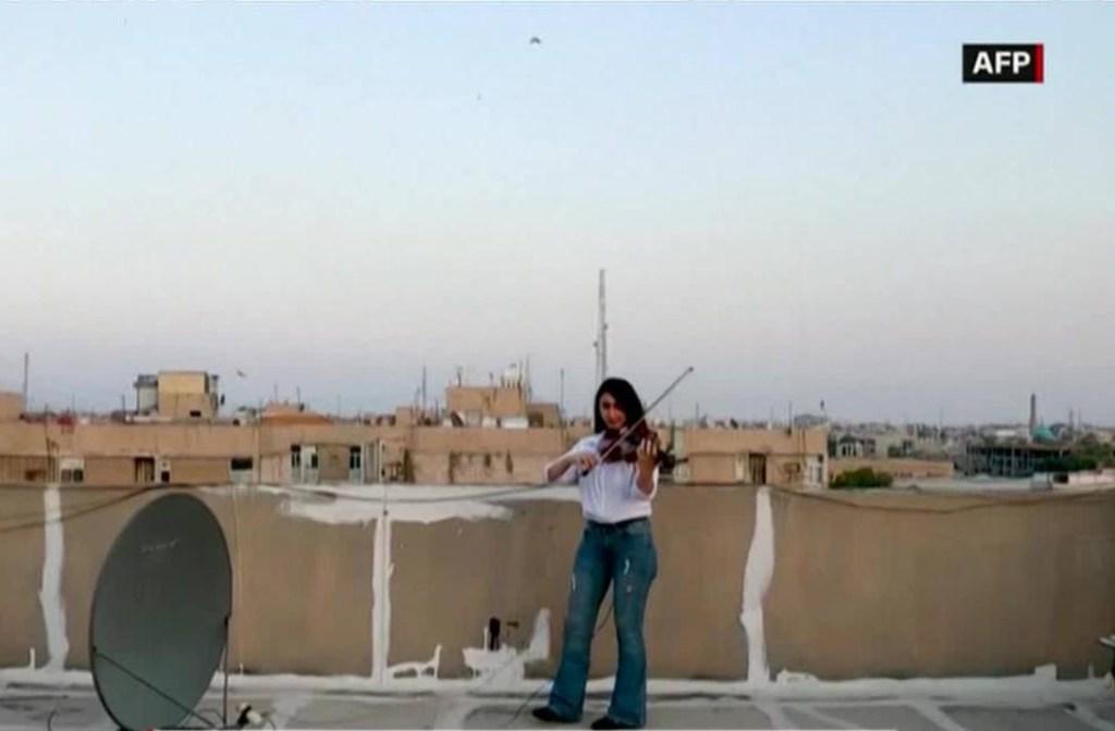 Coronavirus: melodías en Bagdad en tiempos de cuarentena
