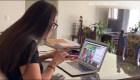 El reto de profesores al dar clases en línea