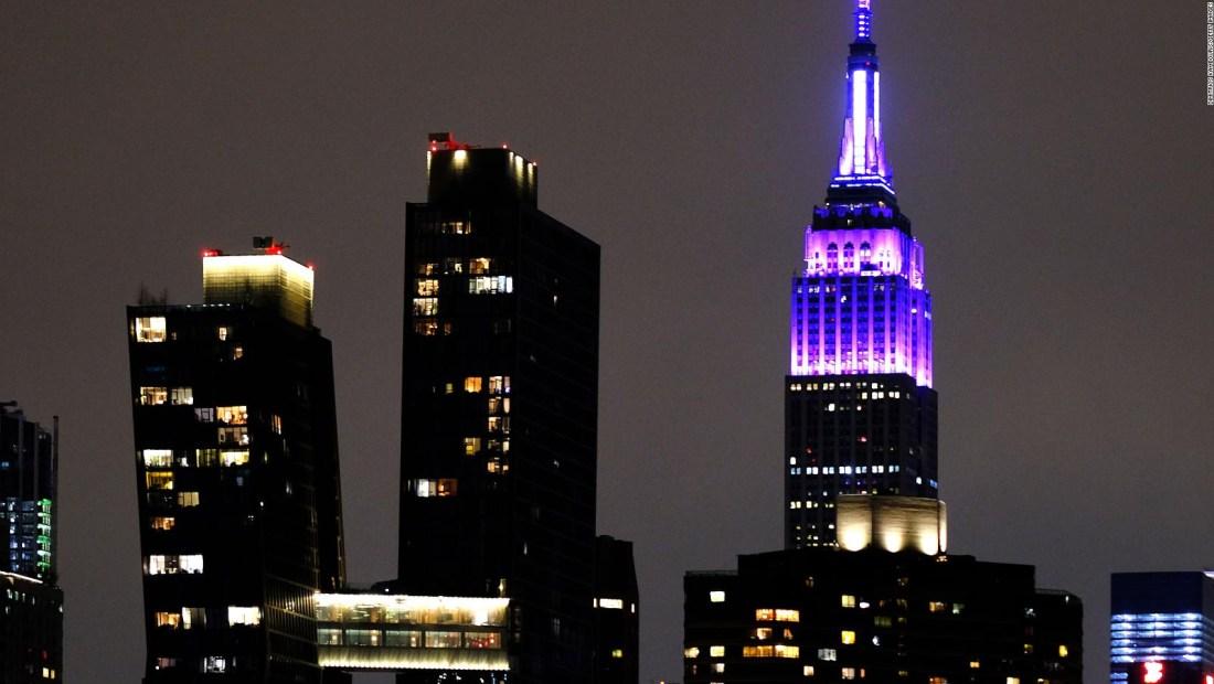 El Empire State se ilumina de azul