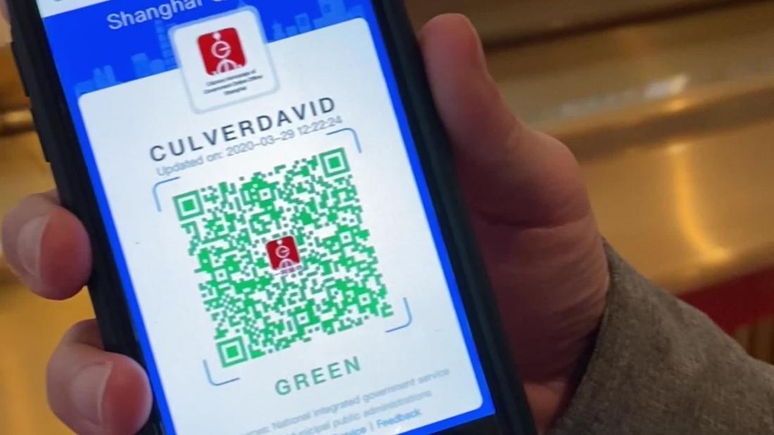 China está luchando contra el coronavirus con un código QR digital. Así  funciona | CNN