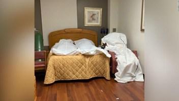Las fotos muestran cuerpos apilados y almacenados en habitaciones vacías en el hospital de Detroit